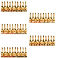 Hot Sale 50 Pcs Musical Audio Speaker Cable Wire 4mm Gold Plated Banana Plug Connector