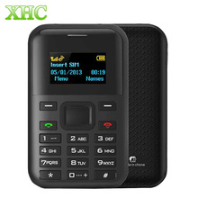 AEKU C8 Card Mobile Phone 1.3 inch MTK6261D Support Bluetooth GPRS Position Single SIM GSM network Security Guard Cellphone