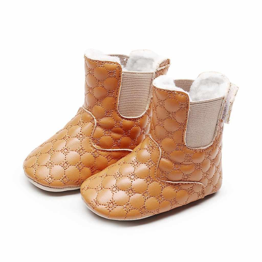 2018 ホット販売新秋早期冬の雪の靴女性の Pu フラットヒールブーツファッション保温女性のブーツブランドの女性の足首