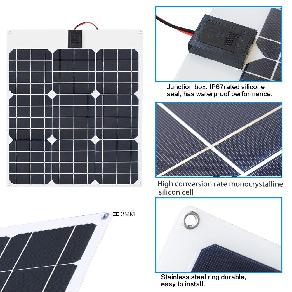 40W Painel Solar 6