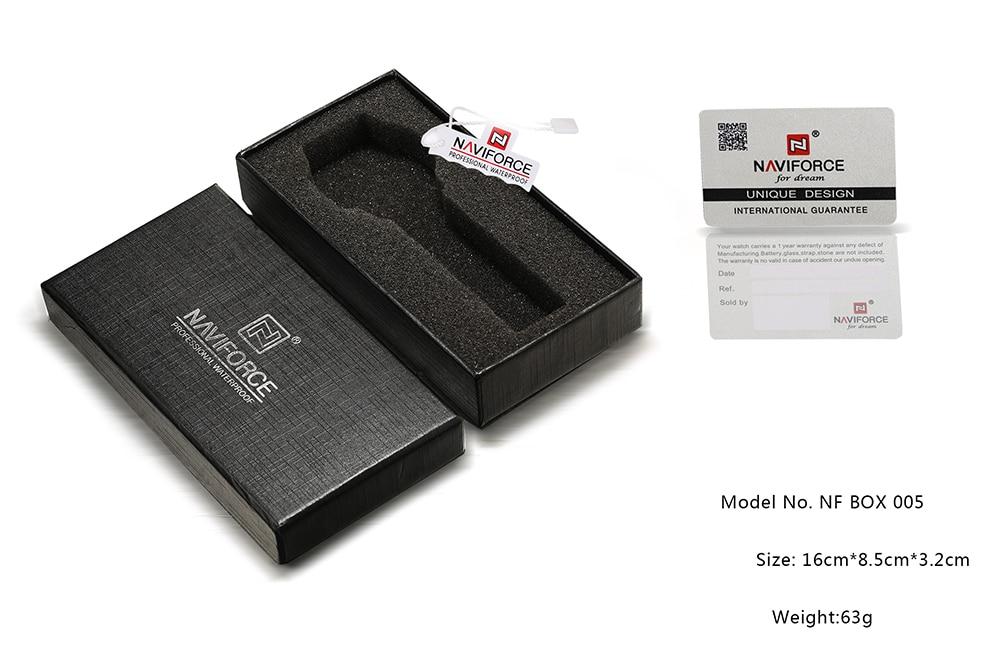 NAVIFORCE PAPER GIFT ORIGINAL WATCH BOX 2