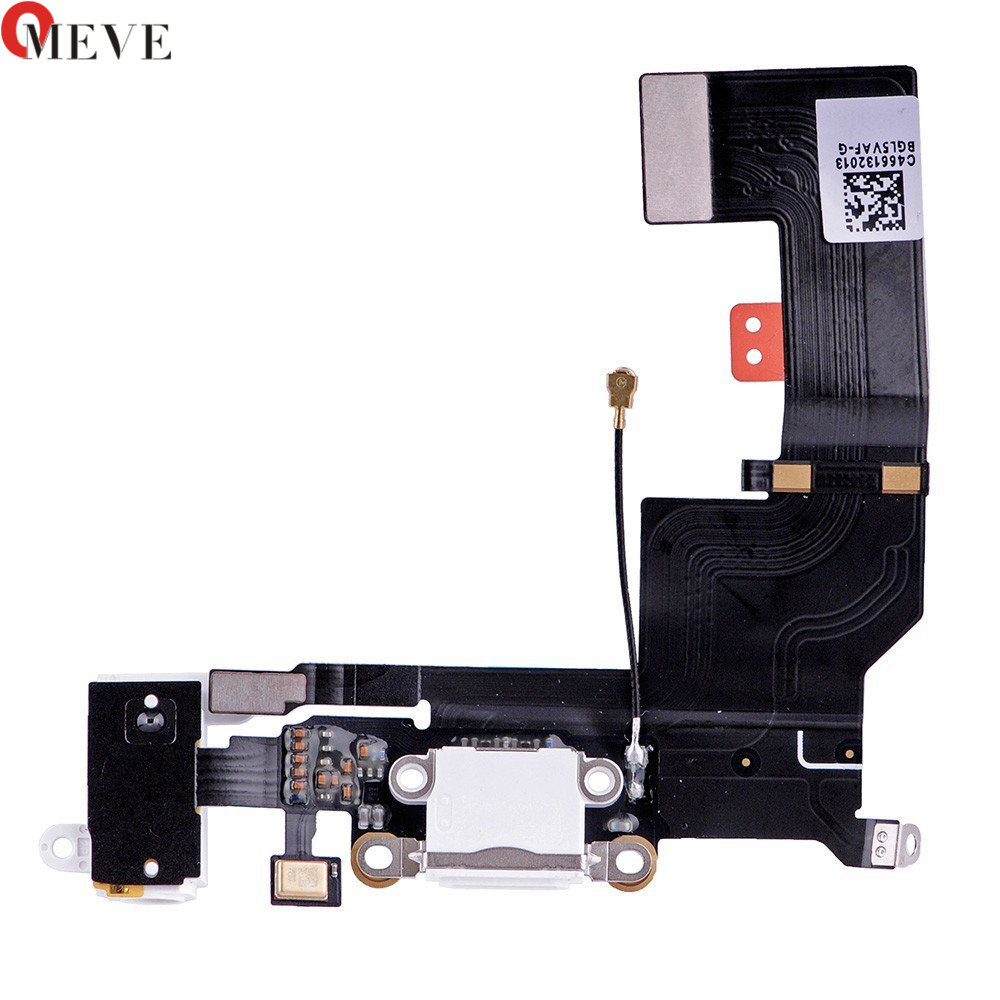 100% Original New High Quality Dock Connector Charging Port Flex Cable For IPhone SE 5SE Black Or White