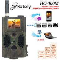 For SunTek Scouting Hunting Camera HC300M HD GPRS MMS Digital 940NM Infrared Trail Camera GSM 2
