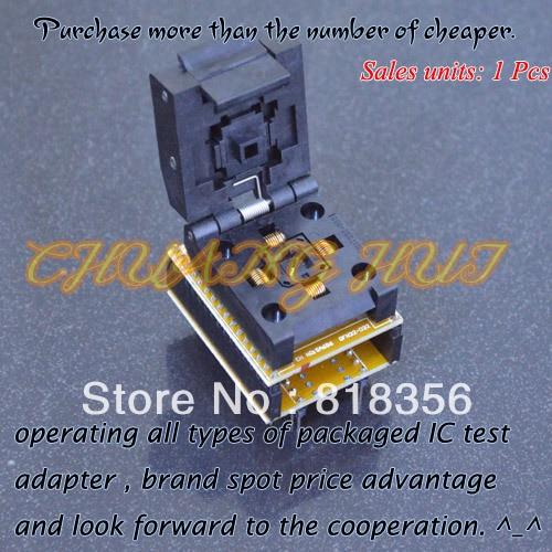 IC TEST SA686/WSON32 DFN32 MLF32 QFN32 to DIP32 Adapter test socket Pitch:0.5mm