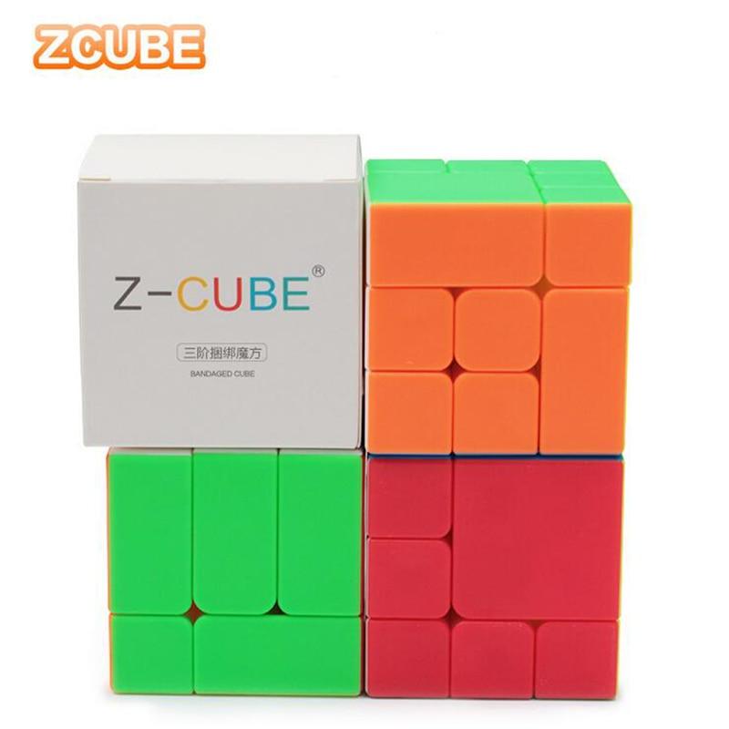 ZCube Magic Cube Bandaged Puzzle Speed Cube Child Brain Educational Learning Toys For Child Gift Magico Cubo
