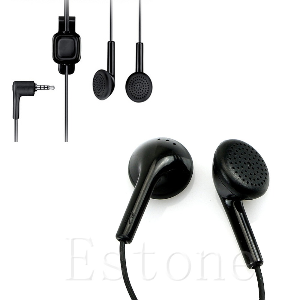 1 PC Black 3.5mm Headset Earphone For Nokia WH-101 HS-105 2680 6500 E66 E71 Nova 5000 6220 7210-M35 image