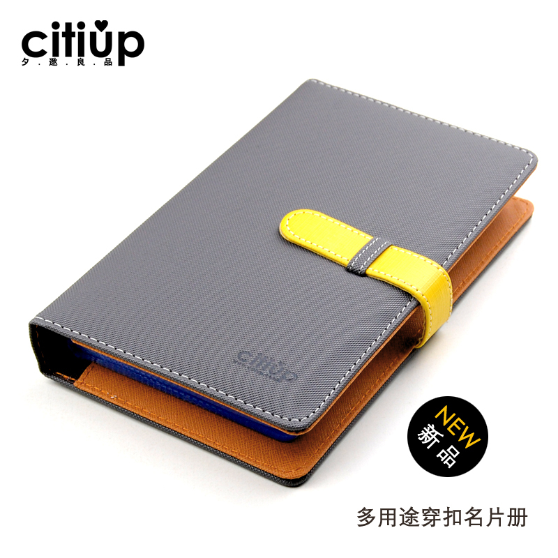 New citiup commercial business card book of book multifunctional new citiup commercial business card book of book multifunctional card holder male women large capacity card stock pianbu gift in card holder note holder reheart Image collections