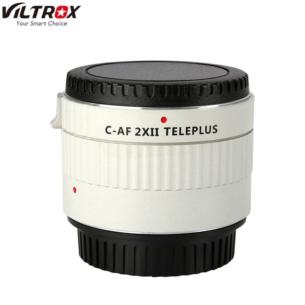 Viltrox C-AF 2X II téléplus téléfocus Autofocus téléconvertisseur 2.0X Extender téléobjectif pour objectif Canon EOS EF 7DII 5D IV