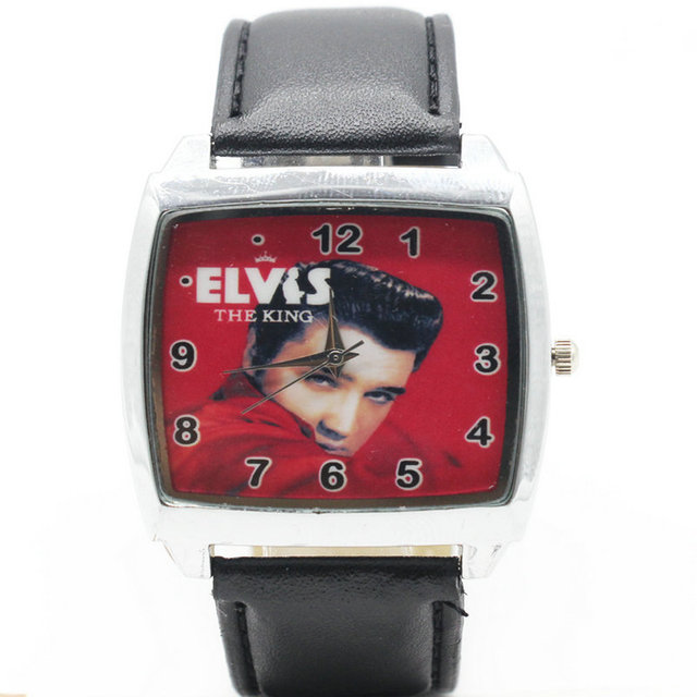 Watches Quartz Wristwatches 2017 New Fashion style Boys and girls Elvis Presley