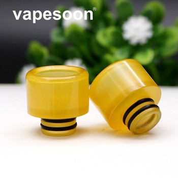 10PCS Yellow 510 Drip Tip Anti-condensation Drip Tip Fit For 510 Thread Atomizer As MELO 3 MINI IJUST S Tank Atomizer