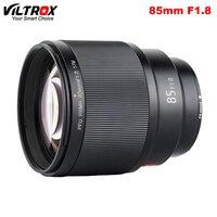 VILTROX 85mm F1.8 STM Auto Focus Fixed Focus Lens Full Frame for Fujifilm X mount Camera X T2 X T3 XT2 X T30 X T20 X T100 X Pro2