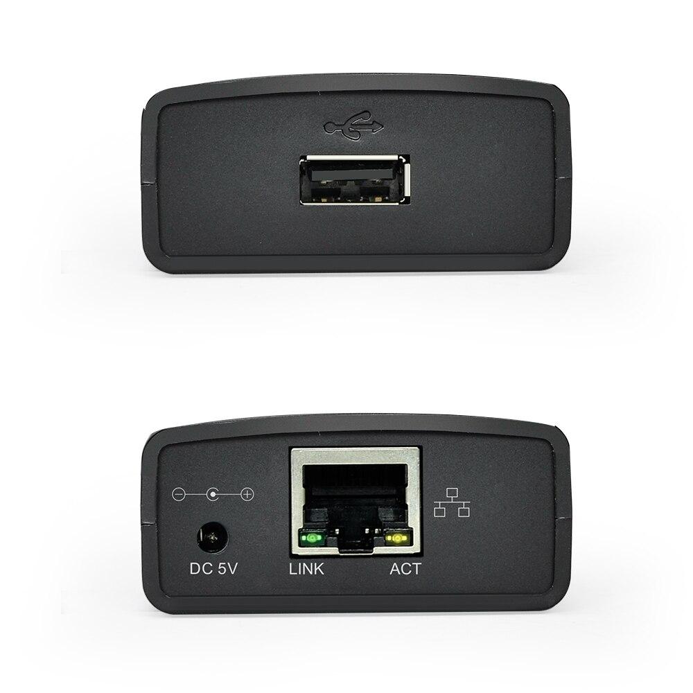 Image 2 - USB 2,0 LRP Сервер печати Поделиться LAN Ethernet сетевой принтер адаптер usb концентратор 100 Мбит сетевой сервер печати-in Серверы печати from Компьютер и офис