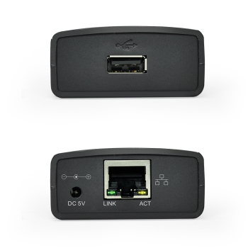 USB 2.0 LRP Print Server Share a LAN Eth...