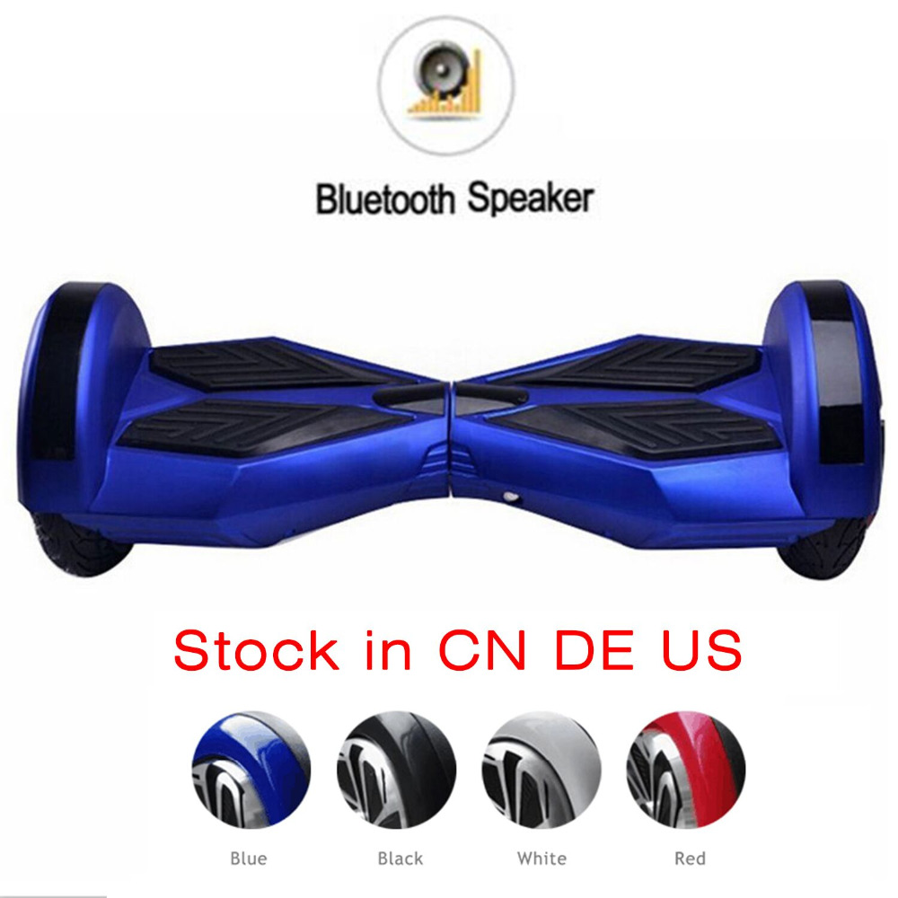 Cimiva 8 inch Hoverboard Electric Smart Self Balance Two Wheel Scooter Hover Board skateboard with Bluetooth Speaker 8 inch hoverboard 2 wheel led light electric hoverboard scooter self balance remote bluetooth smart electric skateboard