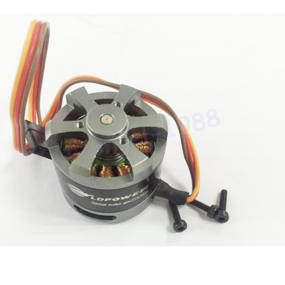 1pcs 2208 39g 3mm shaft Gimbal <font><b>Brushless</b></font> <font><b>Motor</b></font> <font><b>80KV</b></font> for 100-200g GoPro frame image