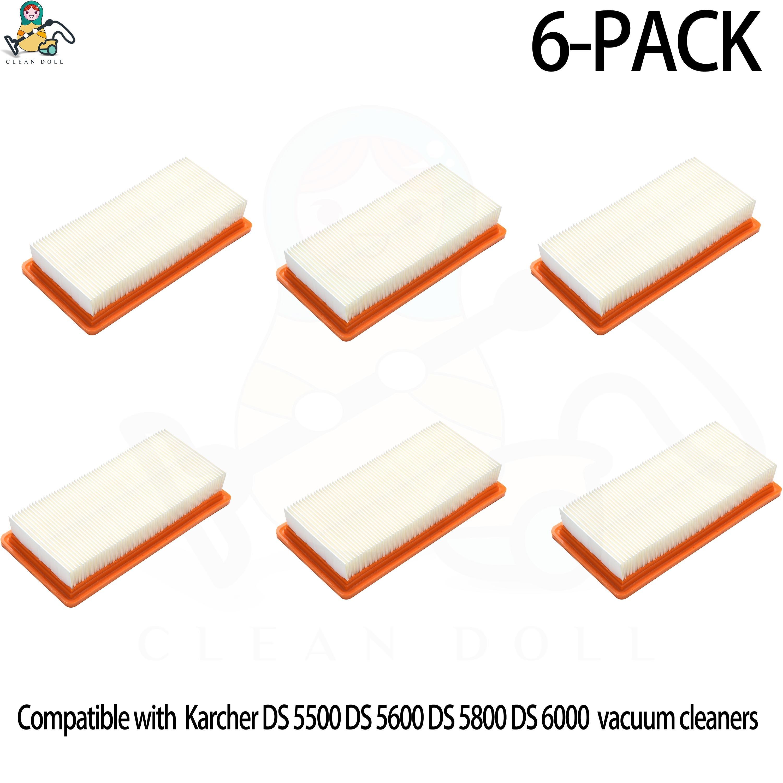 HEPA Filter For Vacuum Cleaner Karcher Filter For DS5500 DS5600 DS6000 DS5800 DS 5500 DS 5.800 6.414-631.0 Vacuum Cleaner Filter