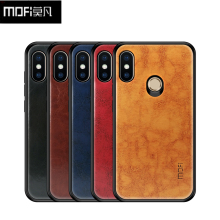 Luxury PU Leather + TPU + PC Case Xiaomi Redmi Note 6 Cover Case MOFI Full Protection Back Cover Xiaomi Redmi Note 6 Pro Case