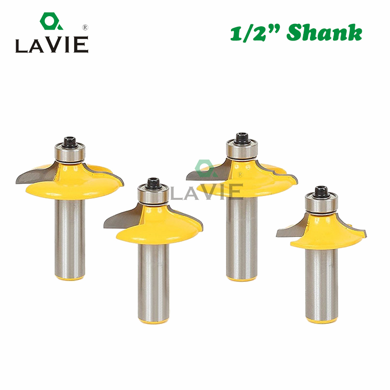 Lavie 4 pçs 12mm 12 shank gaveta