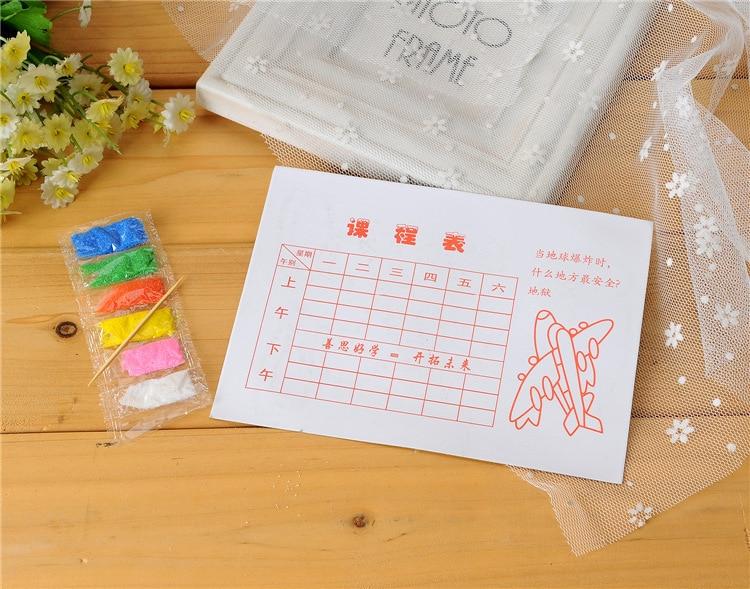 В продаже! 100 шт./лот, цветная Песочная живопись, наборы для Хэллоуина, игрушки для детей