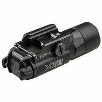 X300U A Weapon Tactical Light Mount X300 Ultra Bright LED Switch Weaponlight Pistol Flashlight White Light 20mm Picatinny Rail