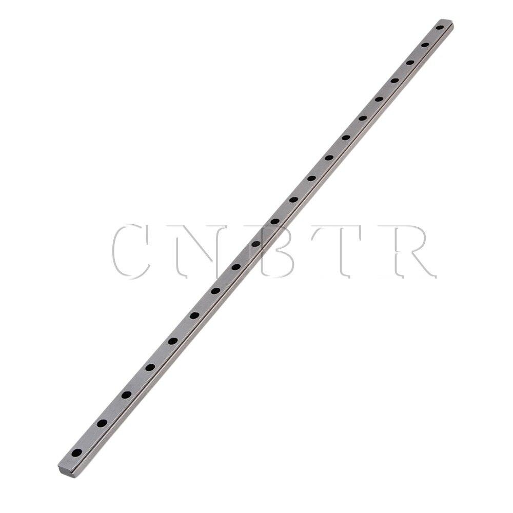 CNBTR 50cm Length MGN12 Bearing Steel Linear Sliding Guide Slide Rails Silver cnbtr 30cm length mgn7 bearing steel linear sliding guide slide rails silver