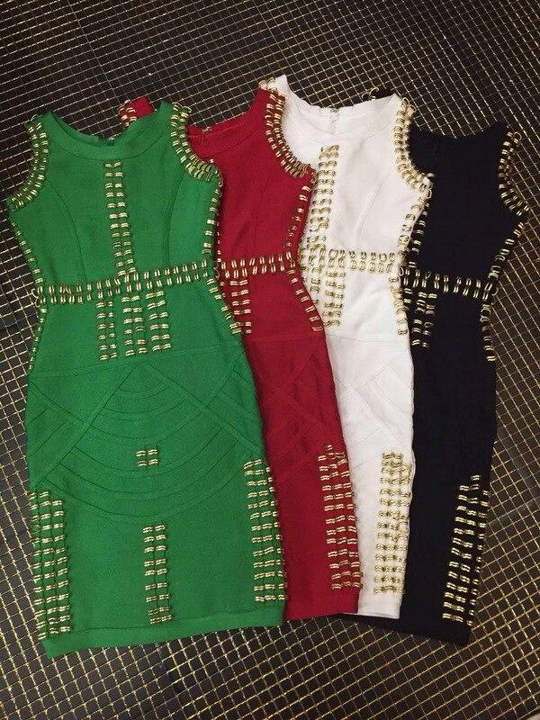 Loisirs Couleurs Gamme Variété Haut Mode Nouveau Dress Cocktail De Un h0805 Luxe Bandage IxYwRWqzp
