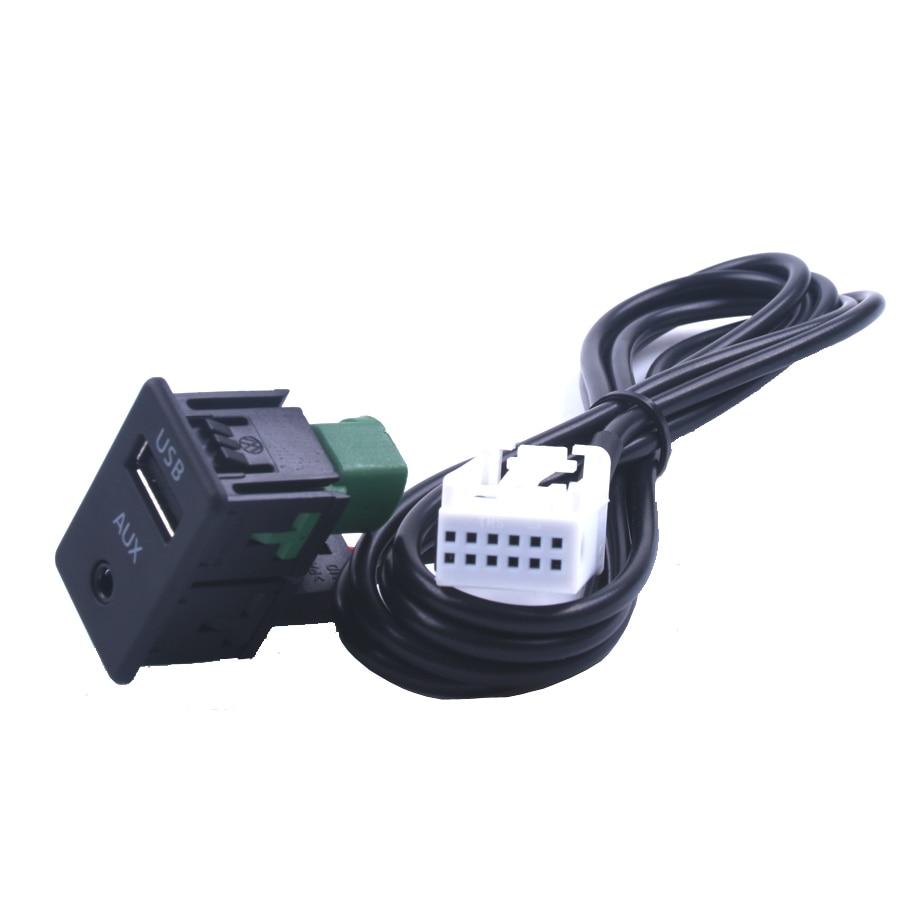 2017 նոր Aux Switch USB անլար ադապտեր մալուխ BMW - Ավտոմեքենաների էլեկտրոնիկա - Լուսանկար 2