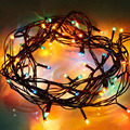 4.5M Newest Christmas Tree Net String Light Christmas Lights  New Year Wedding Party Ceremony Christmas Decoration EU Plug 220V