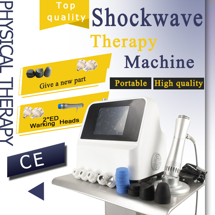 Top Quality  Low Intensity Portable Shock Wave Therapy Equipment Shockwave Machine For Ed Erectile Dysfunction Treatments
