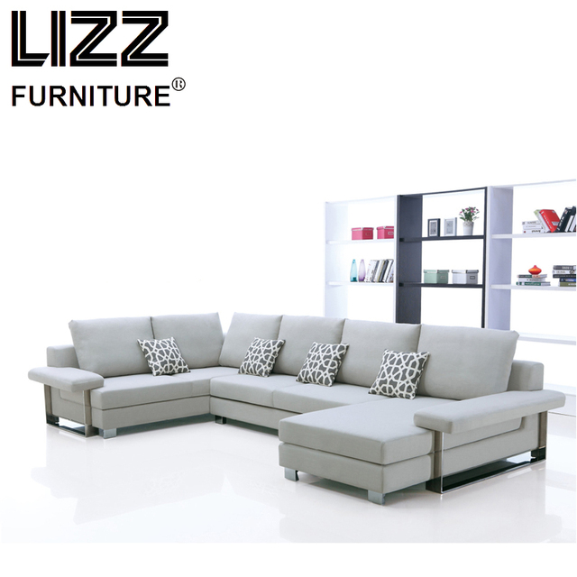 China Corner Sofas Loveseat Chair High Quality Fabric Living Room Furniture Modern Design Fabrics
