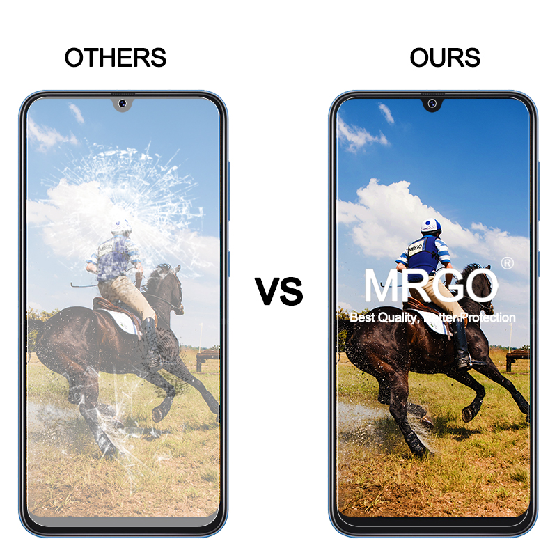 Image 4 - 2Pcs Tempered Glass for Samsung Galaxy A50 A10 A70 Screen Protector Glass for Samsung A50 A30 A20E A70 A60 A80 A20 A10 Glass-in Phone Screen Protectors from Cellphones & Telecommunications