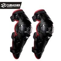 Beschermende Motorfiets Knie Pads Cuirassier Kneepad Protector Bescherming Off Road Mx Motocross Brace Elleboog Guards Racing Beschermen