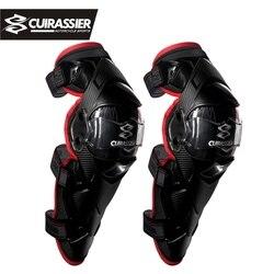 Koruyucu motosiklet diz pedleri Cuirassier Kneepad koruyucu koruma Off Road MX Motocross Brace dirsek muhafızları yarış korumak