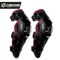 Schutz Motorrad knie pads Cuirassier Kneepad Protector Schutz Off Road MX Motocross Brace Ellenbogen Wachen Racing Schützen