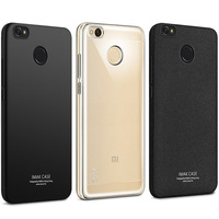 For Xiaomi Redmi 4X Case IMAK Transparent Matte Metal Ultra Thin Full Coverage Soft Cover Free
