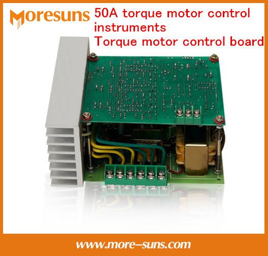 Rápido Envío Gratis 50A instrumentos de control de par motor de Par motor placa de control