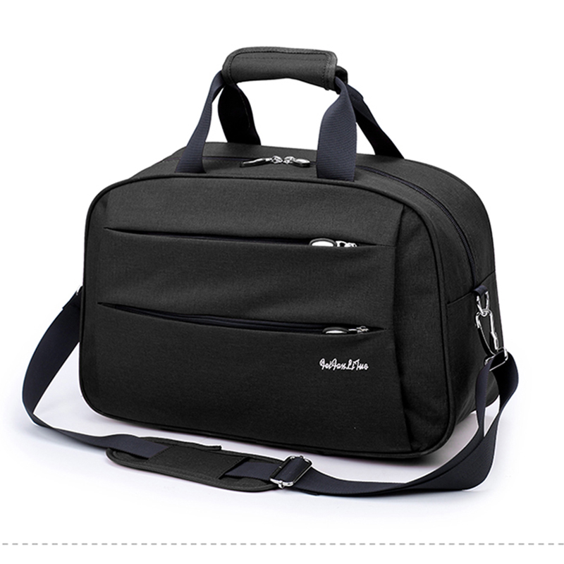 High Quality Nylon Casual Male Travel Bag Men 39 s Shoulder Bag Travel Totes Large Capacity Unisex Fashion Duffle Bag Packing Cubes in Travel Bags from Luggage amp Bags