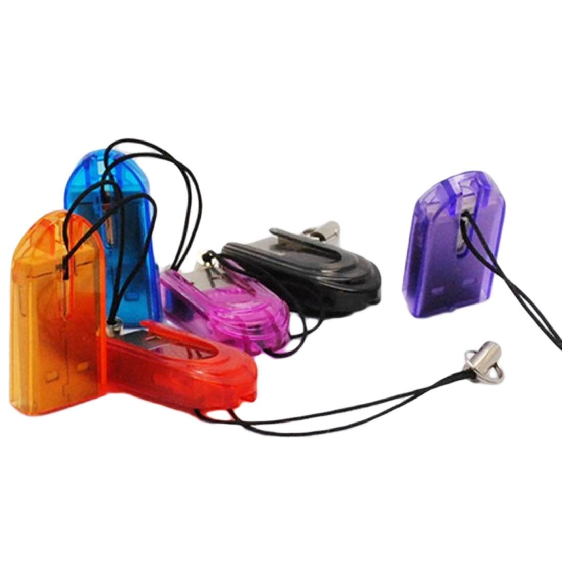 Etmakit 10pcs/lot Mini USB 2.0 Micro SD MicroSD TF Flash Memory Card Reader For IPhone Mobile Phones Multicolors