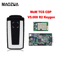 Newest V5.008 R2 WoW Snooper TCS CDP With Keygen Bluetooth TCS CDP Pro OBD2 Scan Tool For Cars &Trucks Diagnostic Tool