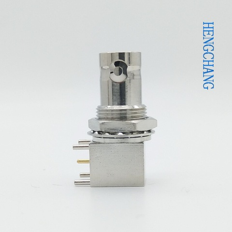 anteparo angulo direito montagem pcb bnc conector