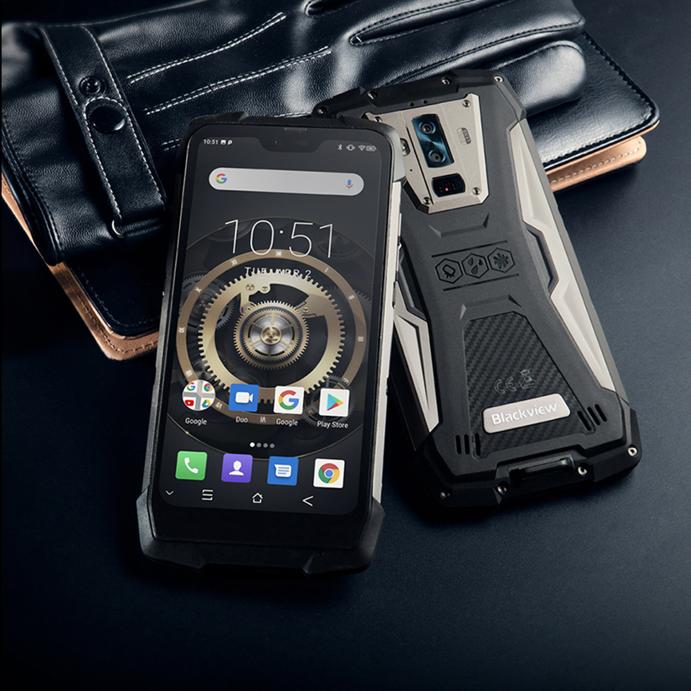Blackview BV9700 Pro IP68 Rugged Mobile Phone Helio P70 Octa Core 6GB+128GB Android 9.0 16MP+8MP Night Vision Camera Smartphone