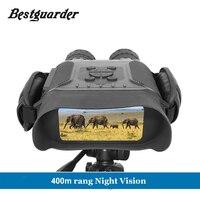 400 м Ночное Видение 4 широкоформатный 32G промежуток времени телескоп охотничий бинокль камера инфракрасная сделать 5 Мп фото и 720 p видео ИК