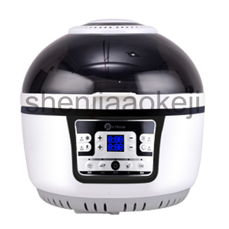 3D air fryer household wave oven intelligent large-capacity multi-fryer oil-free French fries machine 220v 1300w1pc 220v non stick lcd electric deep fryer oil free and smokeless electric air fryer french fries machine for home using