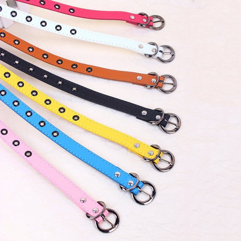 Kids Brand Belt Child Waistband Classic Boys Girls Color Leisure Waist Strap Children PU leather Belts Hot