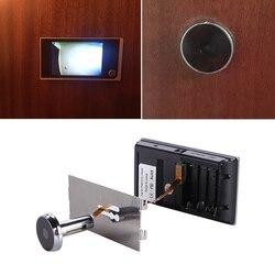 Digital Door Viewer Doorbell Security Camera Electronic Cat Eye 3.5