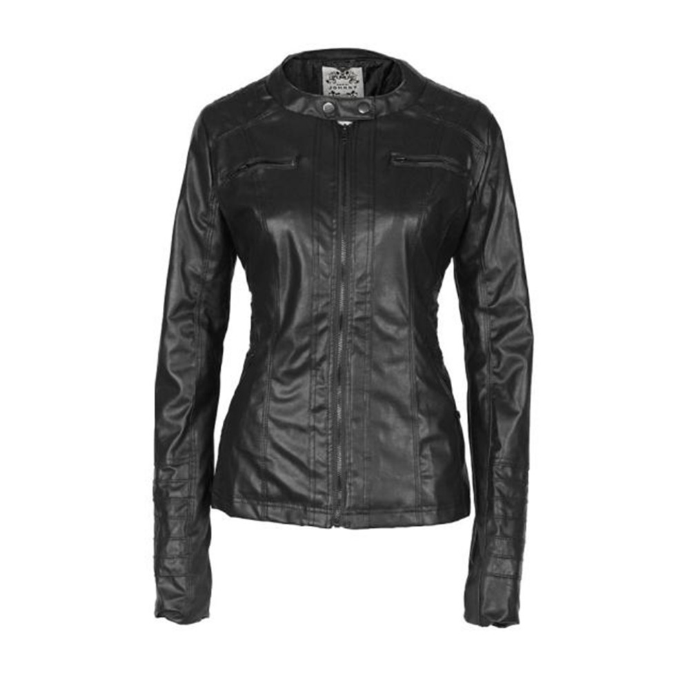 Online Get Cheap Womens Leather Hooded Bomber Jacket -Aliexpress ...