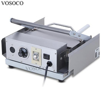 VOSOCO Hamburger Machine 700W KFC MacDonald Electric Commercial Double Layer Hamburger Furnace Hamburger Machine Bread Roaster