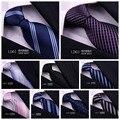Мужская платье бизнес 8.5 см синий шелковый галстук галстук женатых мужчин
