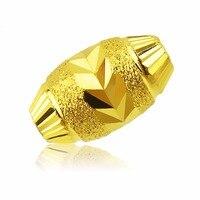 Pure 999 24k Solid Yellow Gold Pendant/ New Design Sand Bead Pendant 0.3 0.6g