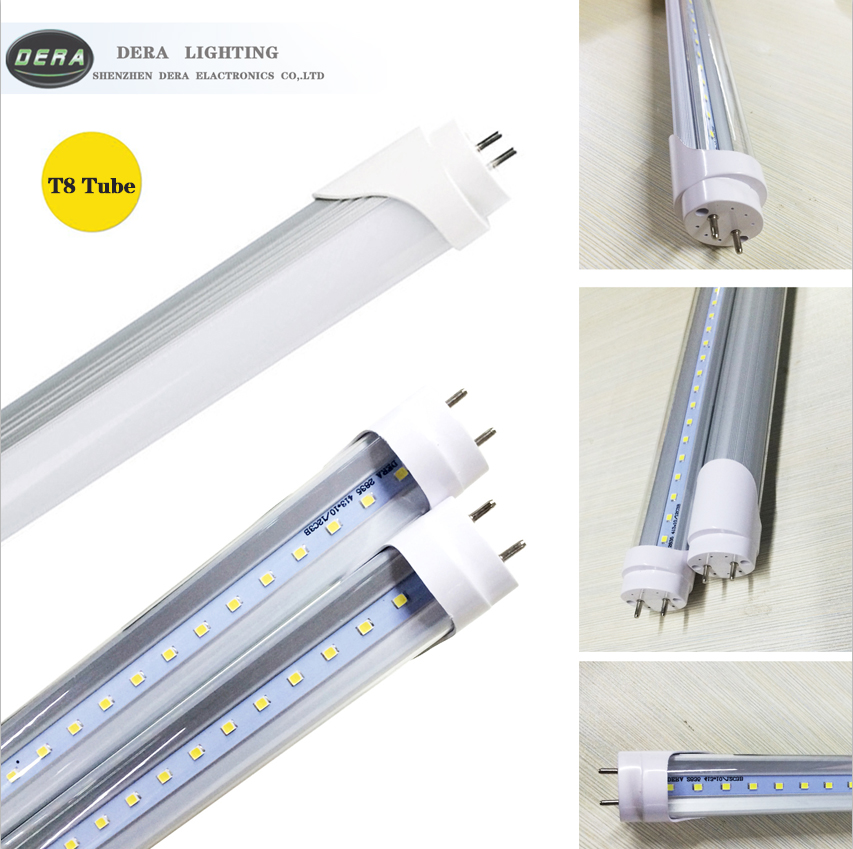 2PCS/lot LED Tube Light T8 1ft 0.3m 300mm 345mm 4W 1.5ft 0.45m 450mm 6W AC85V-265V LED Lamp Light 2835SMD Lights & Lighting